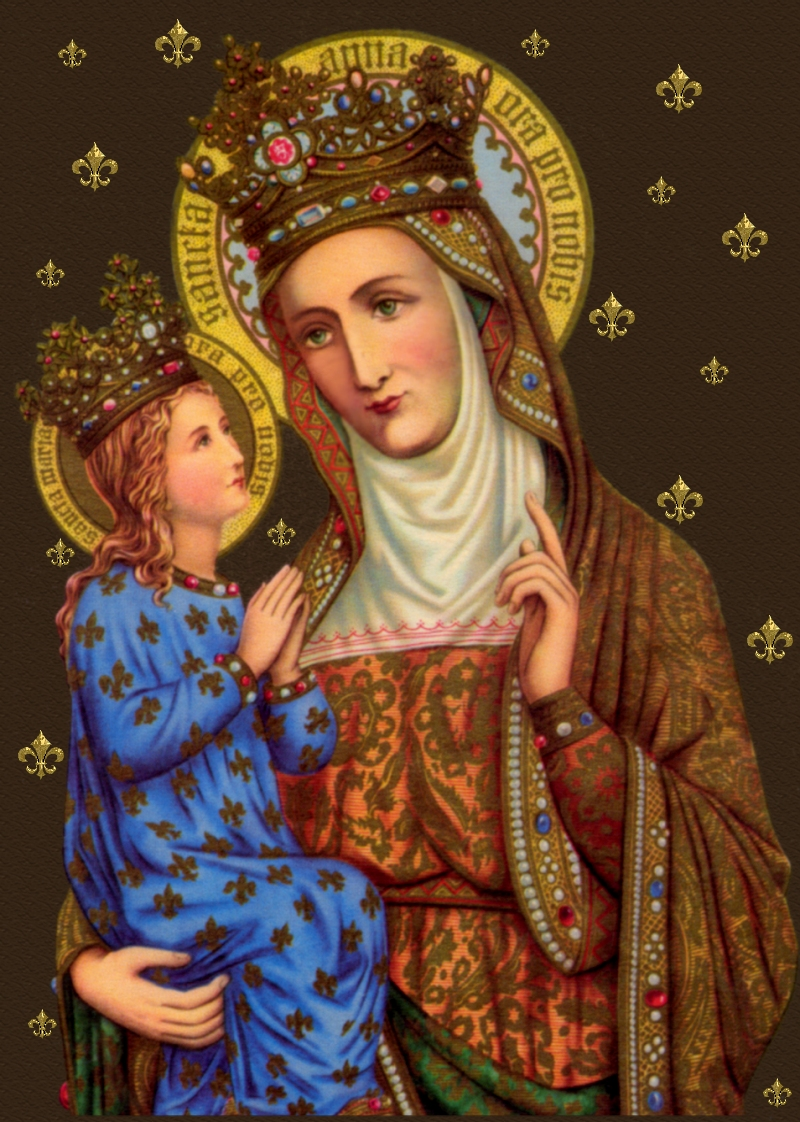 Prayer to st anne for healing